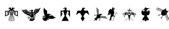 BirdsEleven Font OTHER CHARS