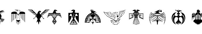 BirdsEleven Font LOWERCASE