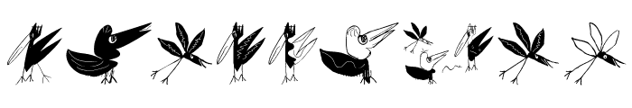 BirdsEtcetera Font OTHER CHARS