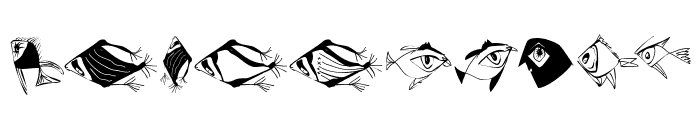 BirdsNFishes Font OTHER CHARS