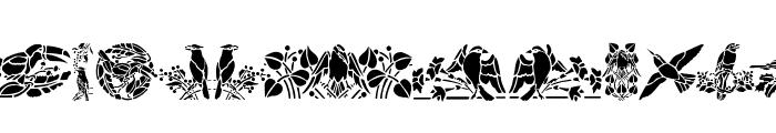 BirdsOne Font UPPERCASE