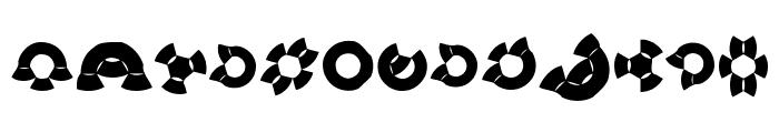 BirdsSinging Font UPPERCASE