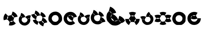 BirdsSinging Font LOWERCASE