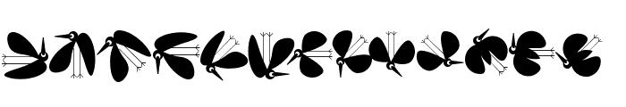 BirdsToolbox Font LOWERCASE