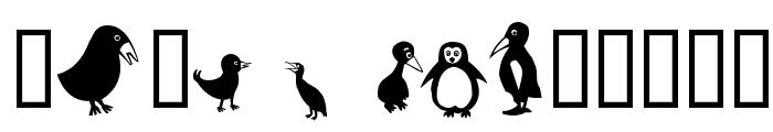 Birds Font LOWERCASE