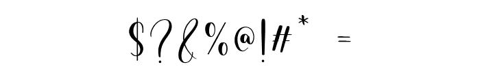 Birdside Font OTHER CHARS