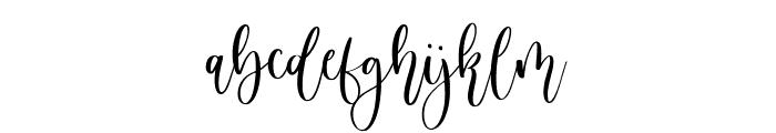 Birdside Font LOWERCASE