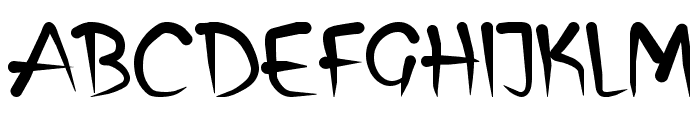 Biren Font UPPERCASE