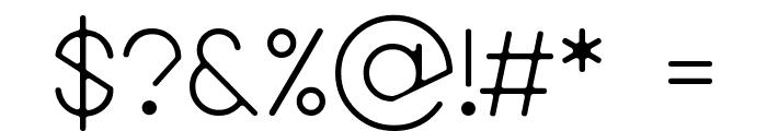 Bireun Font OTHER CHARS