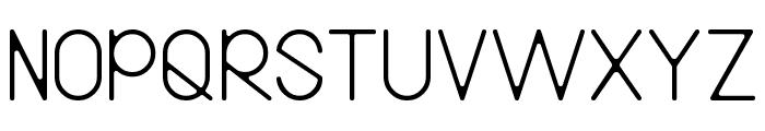Bireun Font UPPERCASE