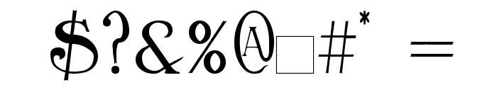 Birmingham Font OTHER CHARS