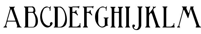 Birmingham Font UPPERCASE