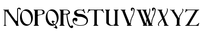 BirminghamBold Font UPPERCASE