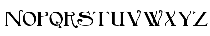 BirminghamBold Font LOWERCASE