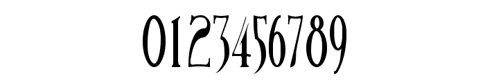 BirminghamElongated Font OTHER CHARS
