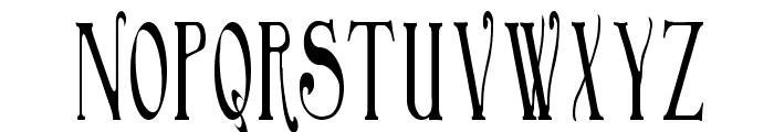 BirminghamElongated Font UPPERCASE