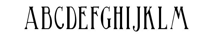 BirminghamElongated Font LOWERCASE