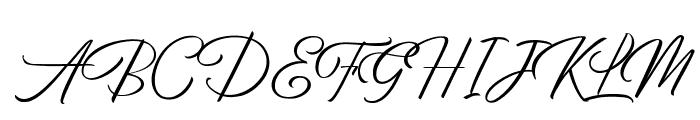 BirminghamScriptDEMO Font UPPERCASE
