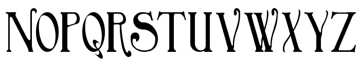 BirminghamTitling Font UPPERCASE