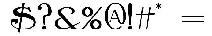 BirminghamTitlingBold Font OTHER CHARS