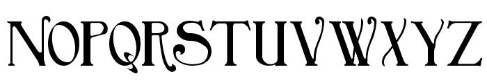 BirminghamTitlingBold Font UPPERCASE