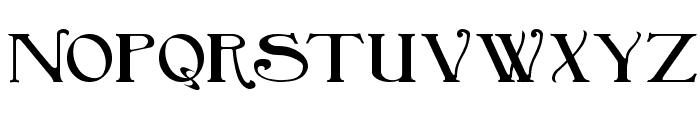 BirminghamTitlingBold Font LOWERCASE