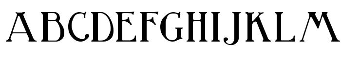 BirminghamTitling Font LOWERCASE
