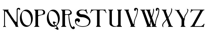 Birmingham Font LOWERCASE