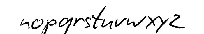 BiroScriptreduced Font LOWERCASE