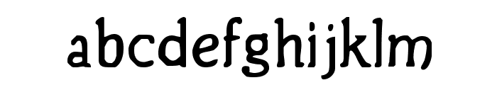 BirthdayGreetz Font LOWERCASE