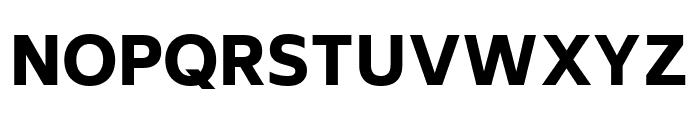 Biryani Black Font UPPERCASE