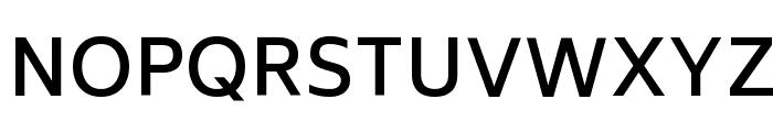 Biryani DemiBold Font UPPERCASE