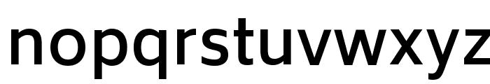 Biryani DemiBold Font LOWERCASE
