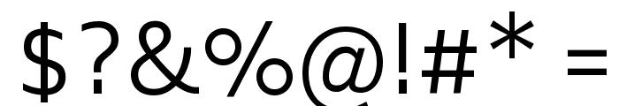 Biryani Light Font OTHER CHARS