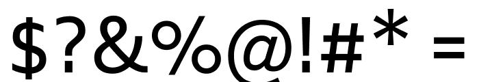 Biryani Regular Font OTHER CHARS