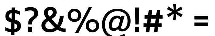 Biryani SemiBold Font OTHER CHARS