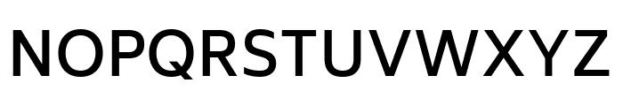 Biryani SemiBold Font UPPERCASE