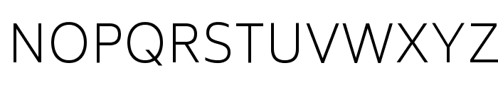 Biryani UltraLight Font UPPERCASE