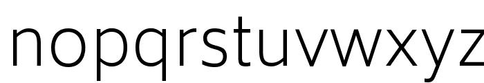 Biryani UltraLight Font LOWERCASE