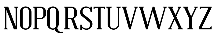 Bistecca Font UPPERCASE