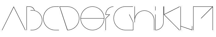 Bisurk Regular Font LOWERCASE