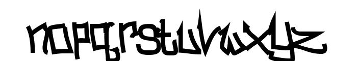 BitchSlap Normal Font LOWERCASE