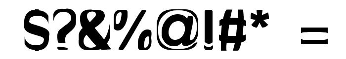 Bitchen Bold Font OTHER CHARS