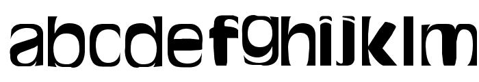 Bitchen Bold Font LOWERCASE