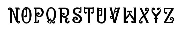 Bitling niks musical Normal Font UPPERCASE