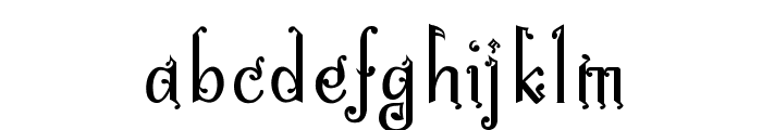 Bitling niks musical Normal Font LOWERCASE