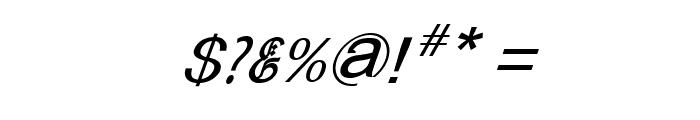 Bitling sulochi calligra Italic Font OTHER CHARS