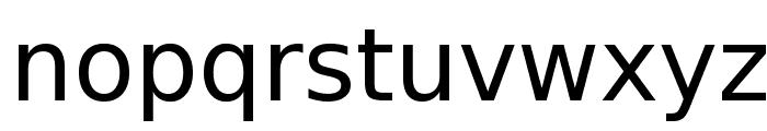 Bitstream Vera Sans Font LOWERCASE