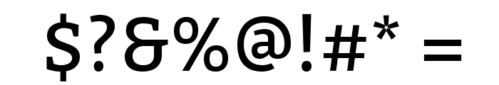 Bitter-Regular Font OTHER CHARS