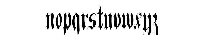 BitterSweet Font LOWERCASE